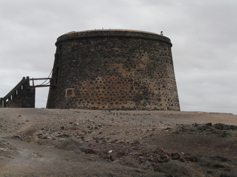2014-02-09_1449__12484A The castle tower, El Cotilla, Fuerteventura