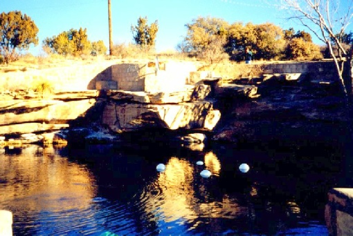 2002-02-09 1 Blue Pool, Santa Rosa, New Mexico