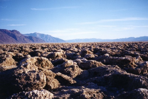 2002-02-24 4 'Devils Golf Course' at Badwater, Death Valley, California