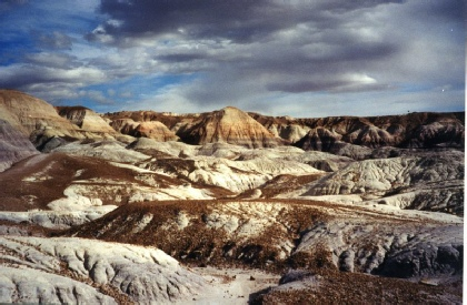 2002-02-14 8 Blue Mesa, Petrified Forest National Park, Arizona