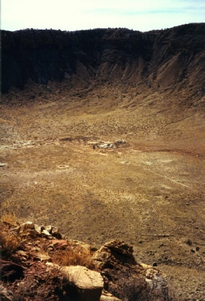 2002-02-15 2 The Meteor Crater, Arizona