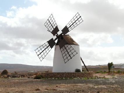 2014-02-07_1106__12378A The 2nd windmill at Llanos de la Conception, Fuerteventura